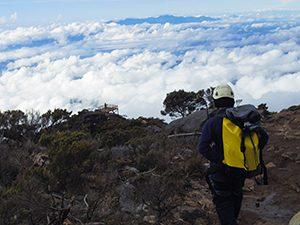 世界最高地点でのヴィア・フェラータ