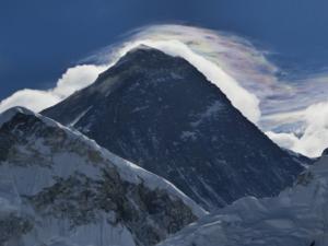 大迫力のエベレスト展望
