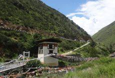 のどかなブータンの風景
