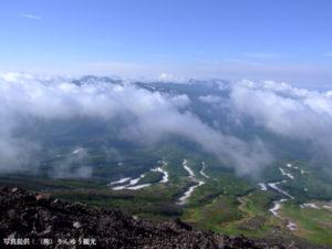 旭岳からトムラウシ山、十勝岳